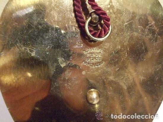 Antigüedades: BENDITERA BRONCE DORADO Y MARMOL MARCA SANTAMARIA - Foto 3 - 143828678