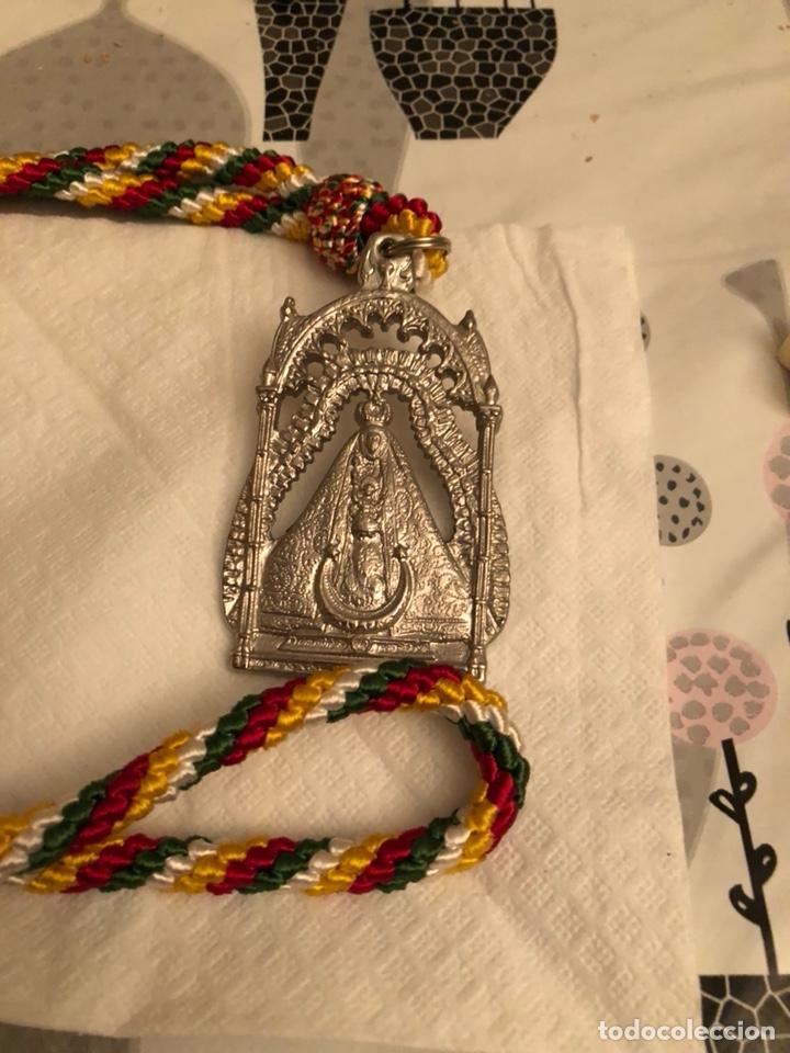 MEDALLA RELIGIOSA COFRADÍA DE SANTA MARIA DE LA SIERRA CABRA (Antigüedades - Religiosas - Medallas Antiguas)