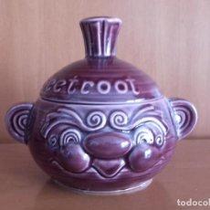 Antigüedades: RECIPIENTE DE COCINA SADLER REMOLACHA BEETROOT. Lote 143842438