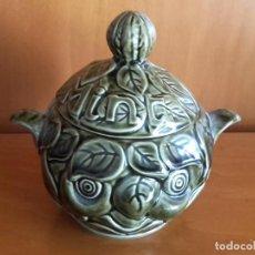 Antigüedades: RECIPIENTE DE COCINA SADLER MENTA MINT. Lote 143842514