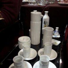 Antigüedades: JUEGO DE CAFE,CASTRO,SARGADEOS. Lote 143865732