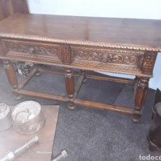 Antigüedades: MESA TALLADA. Lote 143866988