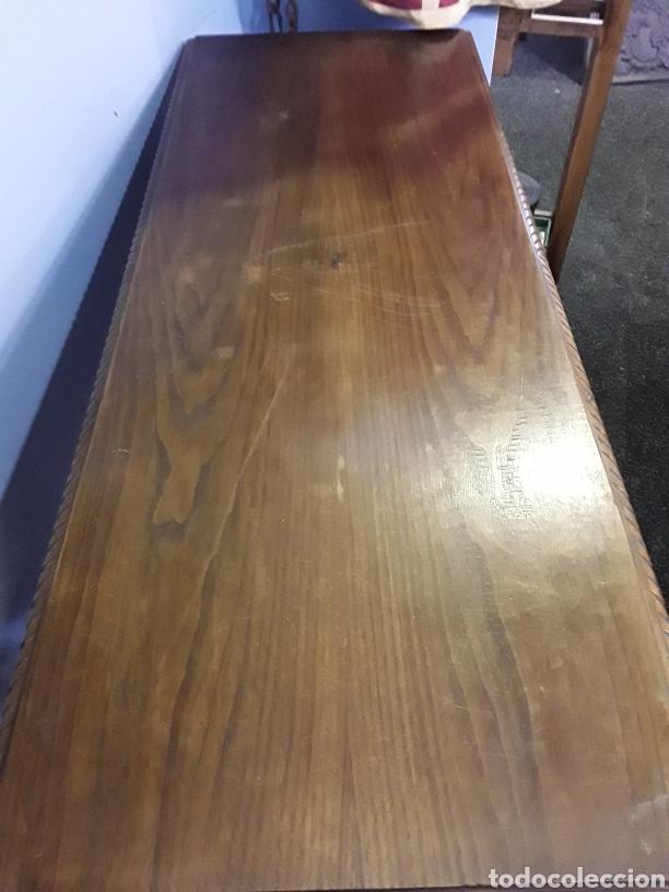 Antigüedades: Mesa tallada - Foto 3 - 143866988