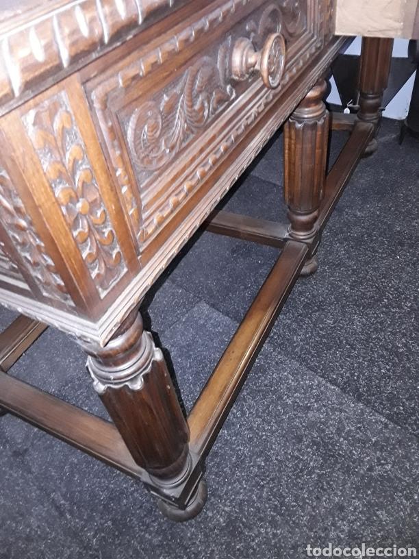 Antigüedades: Mesa tallada - Foto 6 - 143866988