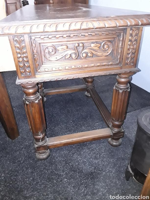 Antigüedades: Mesa tallada - Foto 8 - 143866988