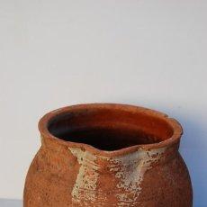 Antigüedades: TARRO DE ORDEÑO, HERRAO O HERRADA, SIN ASAS. Lote 143892202