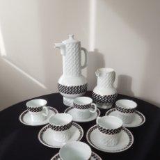 Antigüedades: JUEGO CAFE CASTRO SARGADELOS. Lote 143972309