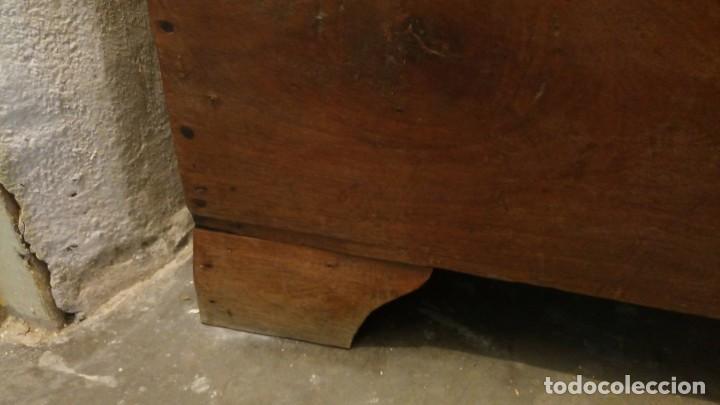 Antigüedades: BAÚL/ARCA/ARCÓN PARA AJUAR PRINCIPIOS SIGLO XX - Foto 3 - 143980182
