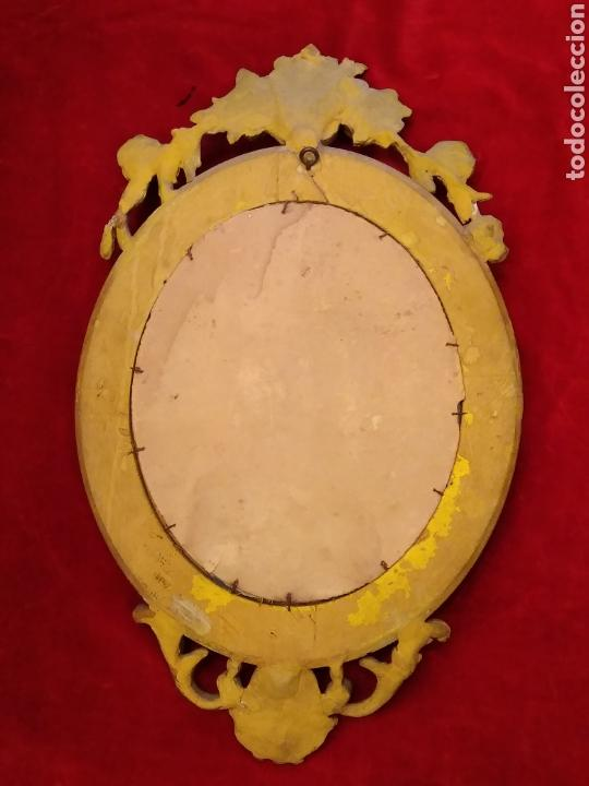 Antigüedades: Espejo con marco dorado siglo XIX - Foto 4 - 143979781