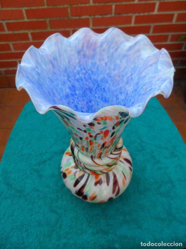 Antigüedades: Jarron cristal de Clichy puro Art Deco - Foto 7 - 143999622