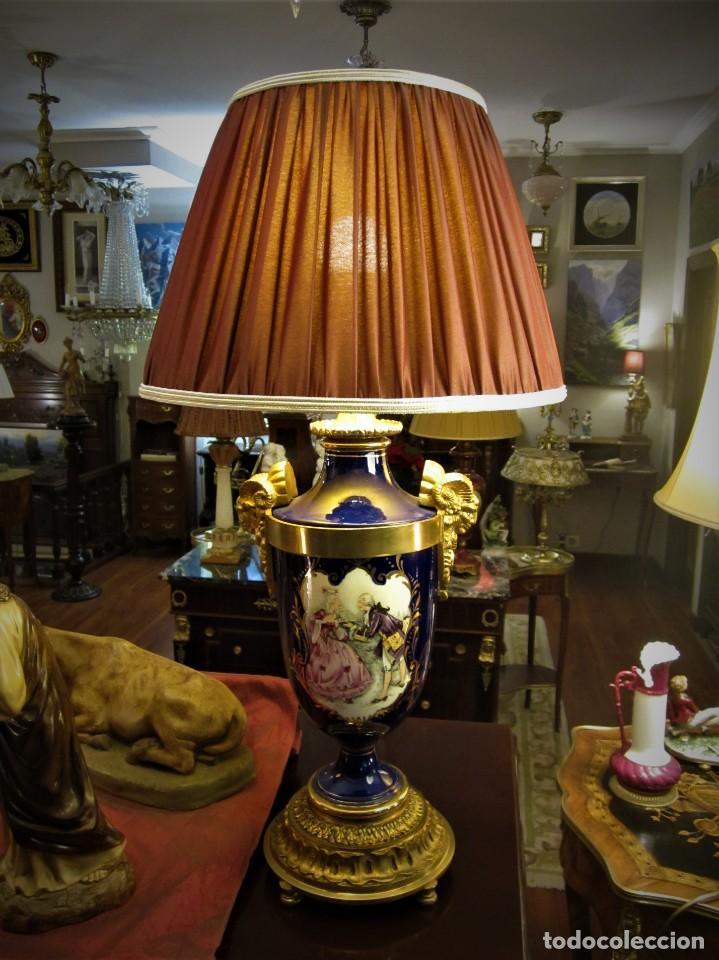 Antigüedades: SOBERBIA PAREJA DE LAMPARAS - Foto 2 - 144027382