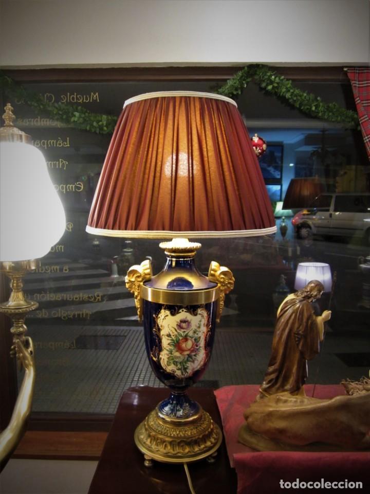 Antigüedades: SOBERBIA PAREJA DE LAMPARAS - Foto 4 - 144027382