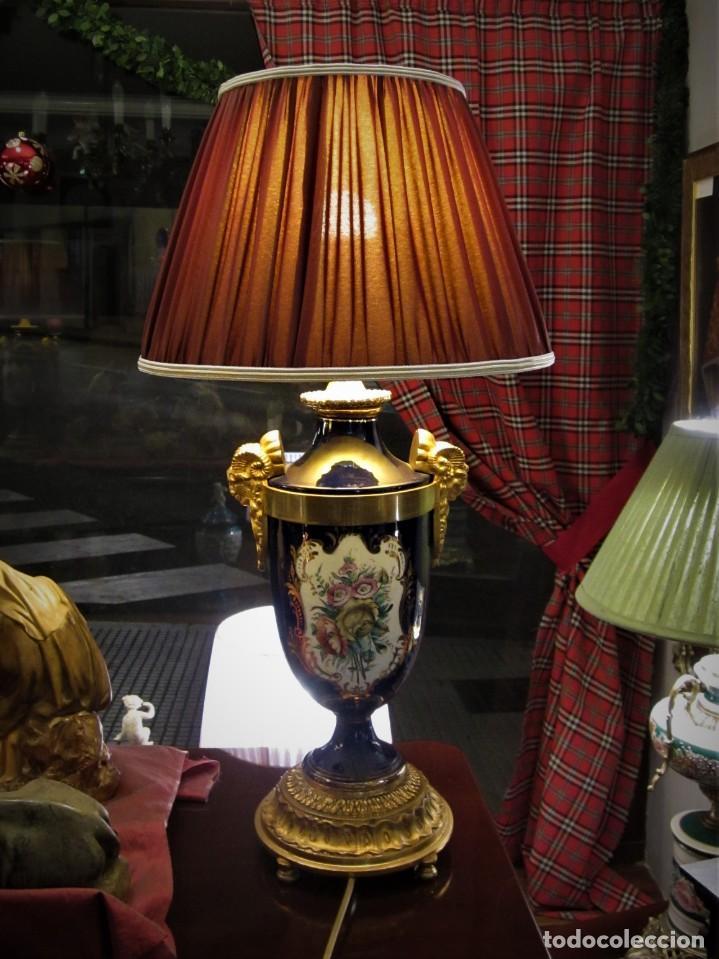 Antigüedades: SOBERBIA PAREJA DE LAMPARAS - Foto 5 - 144027382