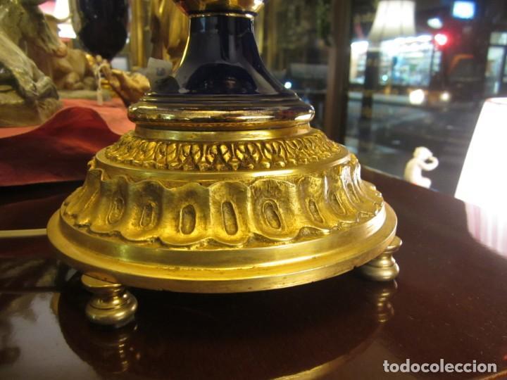 Antigüedades: SOBERBIA PAREJA DE LAMPARAS - Foto 7 - 144027382