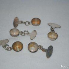 Antigüedades: TACITAS PLATEADAS . Lote 144034770