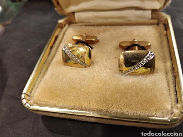 Antigüedades: Gemelos con plaque de oro - Foto 2 - 144040878
