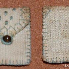Antigüedades: ANTIGUO PORTA ESCAPULARIO DE NUESTRA SEÑORA DEL CARMEN-21. Lote 144086306