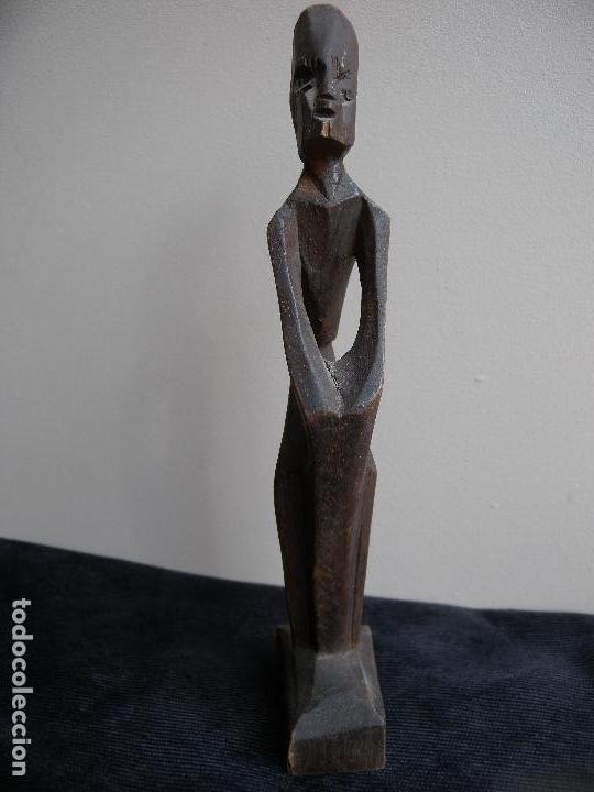 Antigüedades: TALLA EN MADERA - Foto 2 - 144099374