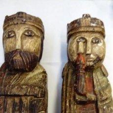 Antigüedades: PAREJA DE APOYA LIBROS. Lote 144104838