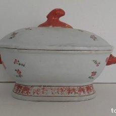 Antigüedades: GRAN SOPERA PORCELANA DE INDIAS . Lote 144105118