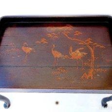 Antiquitäten - MESA CHINA DE CENTRO PINTADA A MANO - 132753218