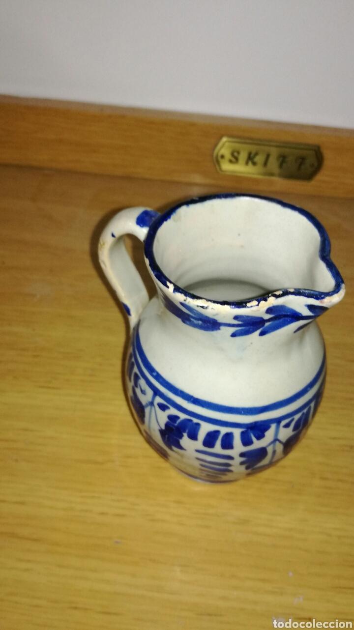 Antigüedades: Jarra antigua original azul - Foto 2 - 144127950