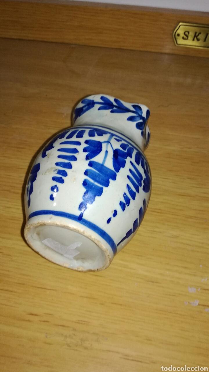 Antigüedades: Jarra antigua original azul - Foto 3 - 144127950