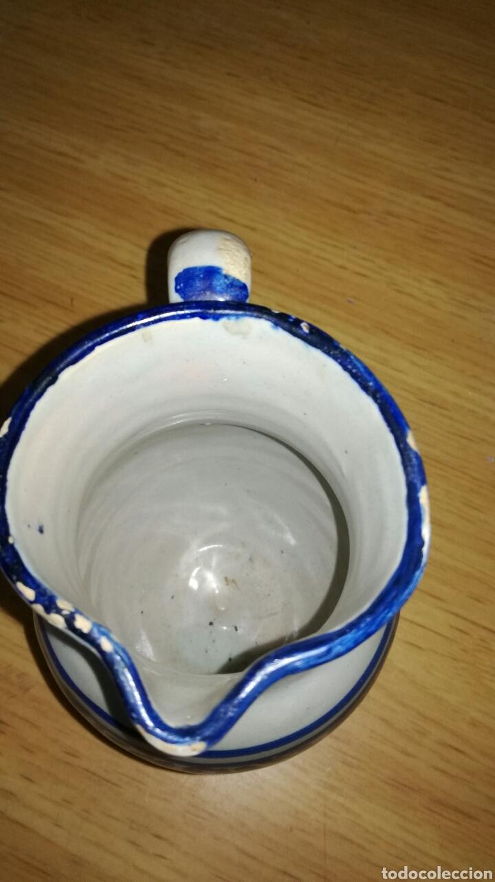 Antigüedades: Jarra antigua original azul - Foto 4 - 144127950