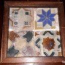 Antigüedades: CUADRO DE OLAMBRILLAS TOLEDANAS DE ARISTA SIGLO XVI. Lote 144131098
