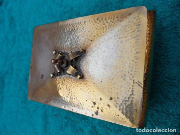 Antigüedades: Caja cigarrera modernista - Foto 2 - 144134046