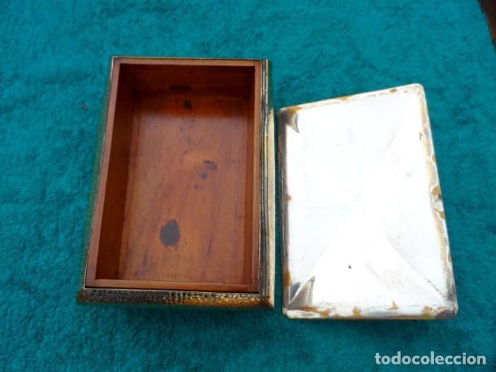 Antigüedades: Caja cigarrera modernista - Foto 4 - 144134046