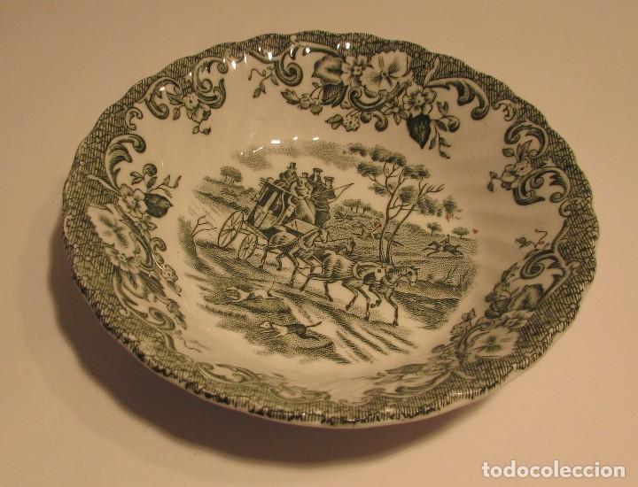 JOHNSON BROS IRONSTONE HUNTRNG COUNTRY PORCELANA INGLESA COACHING SCENES (Antigüedades - Porcelanas y Cerámicas - Inglesa, Bristol y Otros)