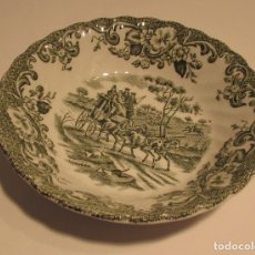Antigüedades: JOHNSON BROS IRONSTONE HUNTRNG COUNTRY PORCELANA INGLESA COACHING SCENES. Lote 144134074