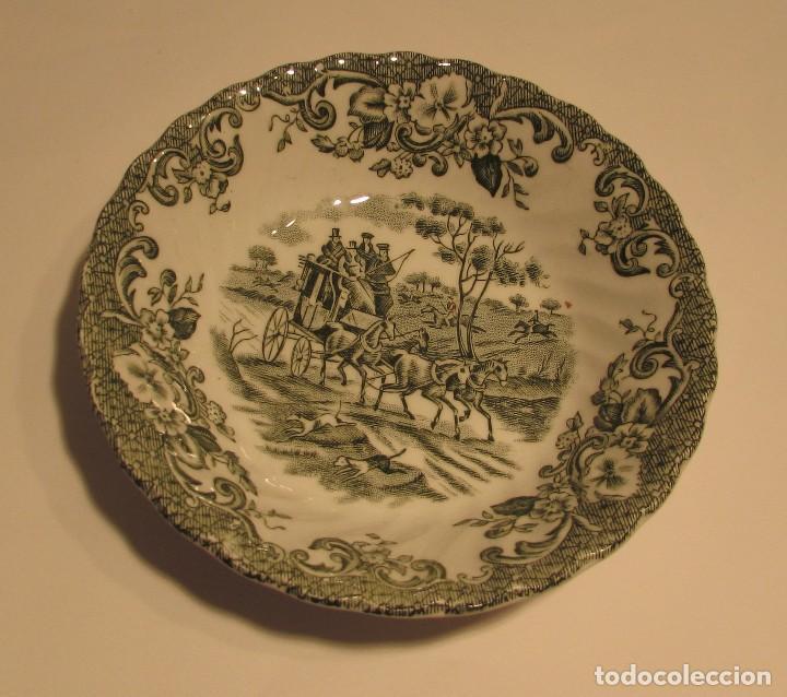 Antigüedades: JOHNSON BROS IRONSTONE HUNTRNG COUNTRY PORCELANA INGLESA COACHING SCENES - Foto 6 - 144134074