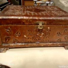 Antigüedades - Caja madera - 144134178