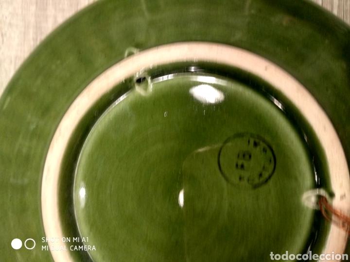 Antigüedades: Pareja platos porcelana portugal - Foto 3 - 144135612