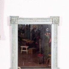 Antigüedades: ESPEJO ANTIGUO RESTAURADO DOMI. Lote 144213046
