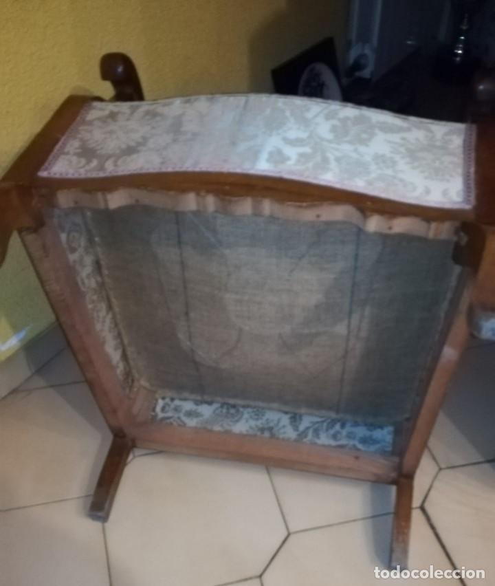 Antigüedades: PAREJA DE BUTACAS, SILLONES, DESCALZADORAS. - Foto 5 - 144213466