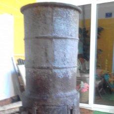Antigüedades: ESTUFA DE HIERRO FUNDIDO. Lote 144221810
