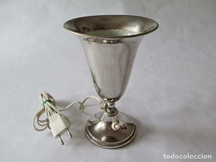 EXCEPCIONAL TORCHERE ORIENTABLE ART DECO VINTAGE (Antigüedades - Iluminación - Lámparas Antiguas)