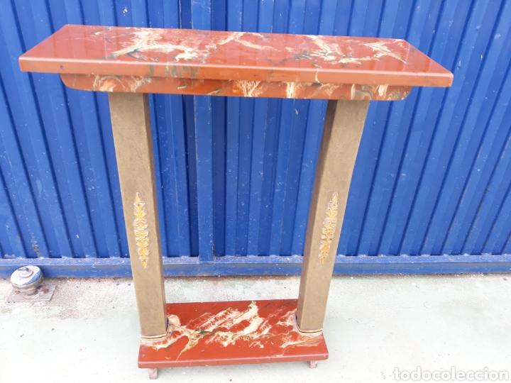 CONSOLA AÑOS 60 (Antigüedades - Muebles Antiguos - Consolas Antiguas)