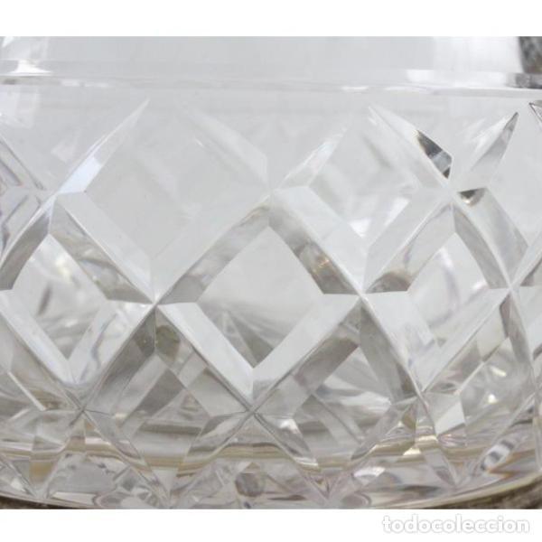 Antigüedades: Antigua jarra de cristal de bohemia tallado - Foto 5 - 144227734