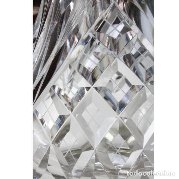 Antigüedades: Antigua jarra de cristal de bohemia y plata - Foto 2 - 144227986