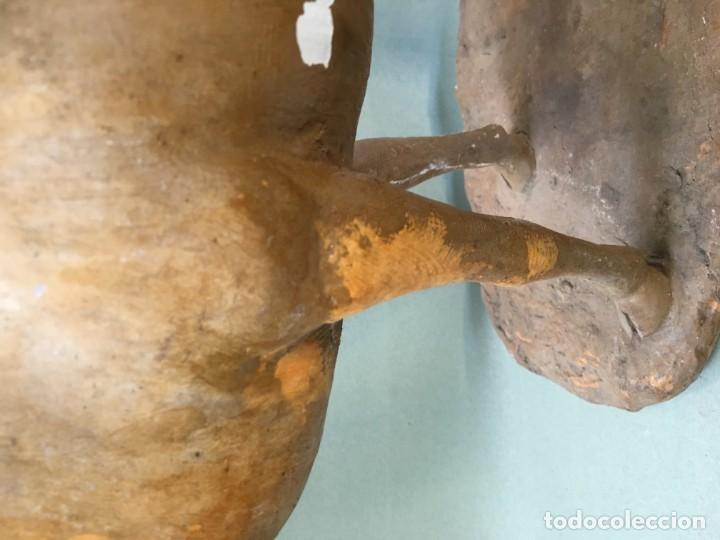 Antigüedades: ESPECTACULAR CIERVO EN ESTUCO DE LOS TALLERES DE OLOT, FIGURA DE PESEBRE? - Foto 3 - 144230886