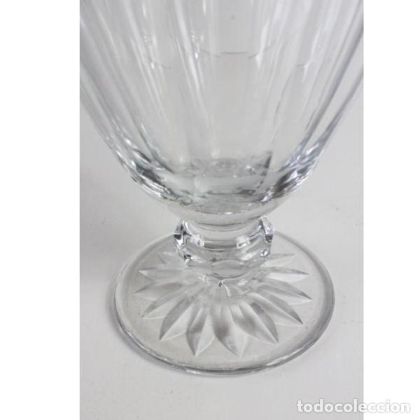 Antigüedades: Antigua jarra de cristal de bohemia tallado - Foto 5 - 144236470