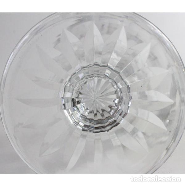 Antigüedades: Antigua jarra de cristal de bohemia tallado - Foto 6 - 144236470