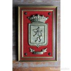 Antigüedades: ANTIGUO ESCUDO DE LEÓN. Lote 144238982