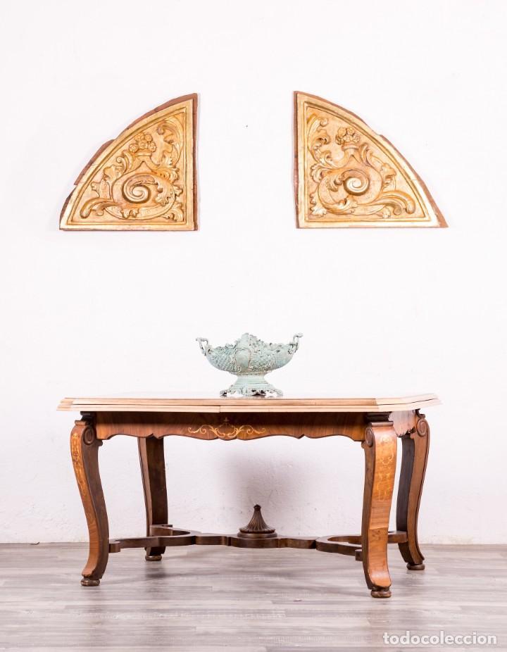 mesa antigua de comedor con marquetería - Comprar Mesas Antiguas en ...