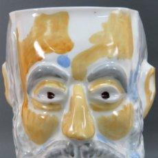 Antigüedades - Cabeza Miguel de Unamuno en cerámica Castro Sargadelos Seoane serie limitada N 15 - 144243534