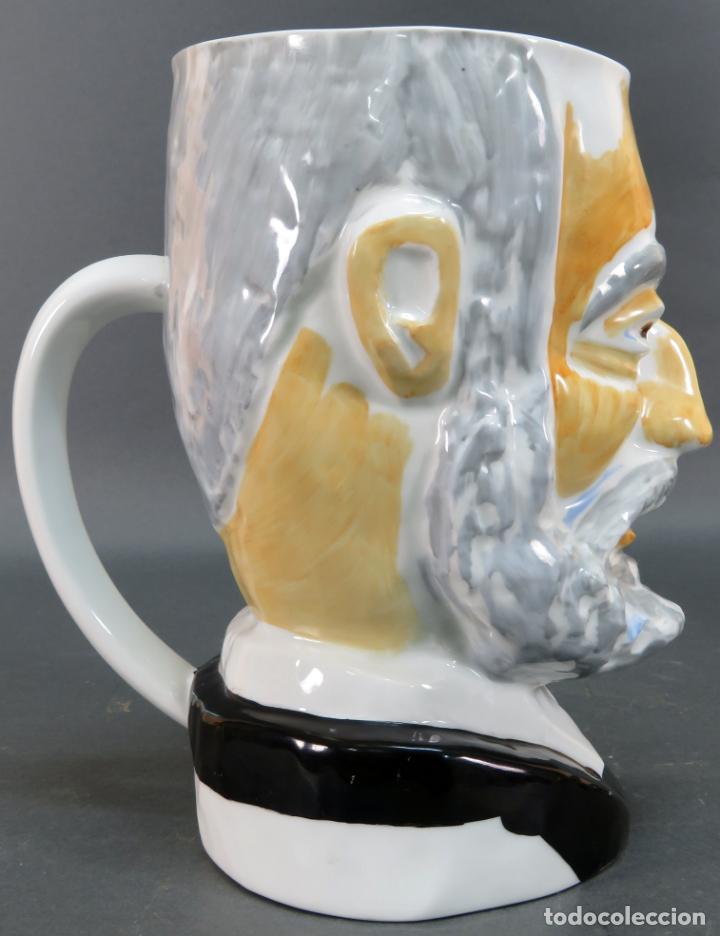 Antigüedades: Cabeza Miguel de Unamuno en cerámica Castro Sargadelos Seoane serie limitada N 15 - Foto 6 - 144243534